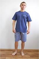 Пижама мужская летняя - футболка и шорты Fabio