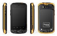 Захищений телефон Sigma X-treme PQ12 ( защищенный смартфон Sigma X-treme PQ12)