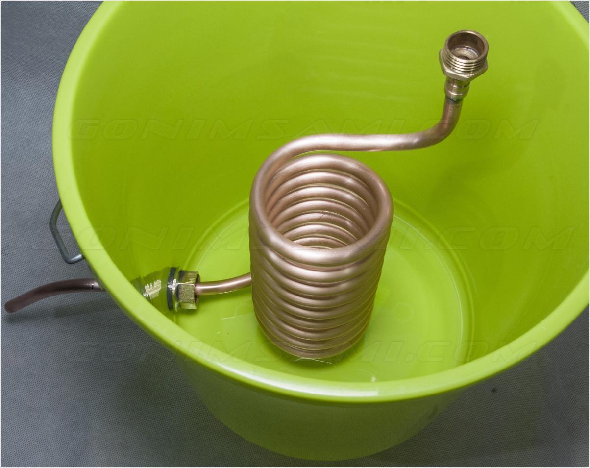 Змеевик труба в трубе для самогонного аппарата своими руками 8
