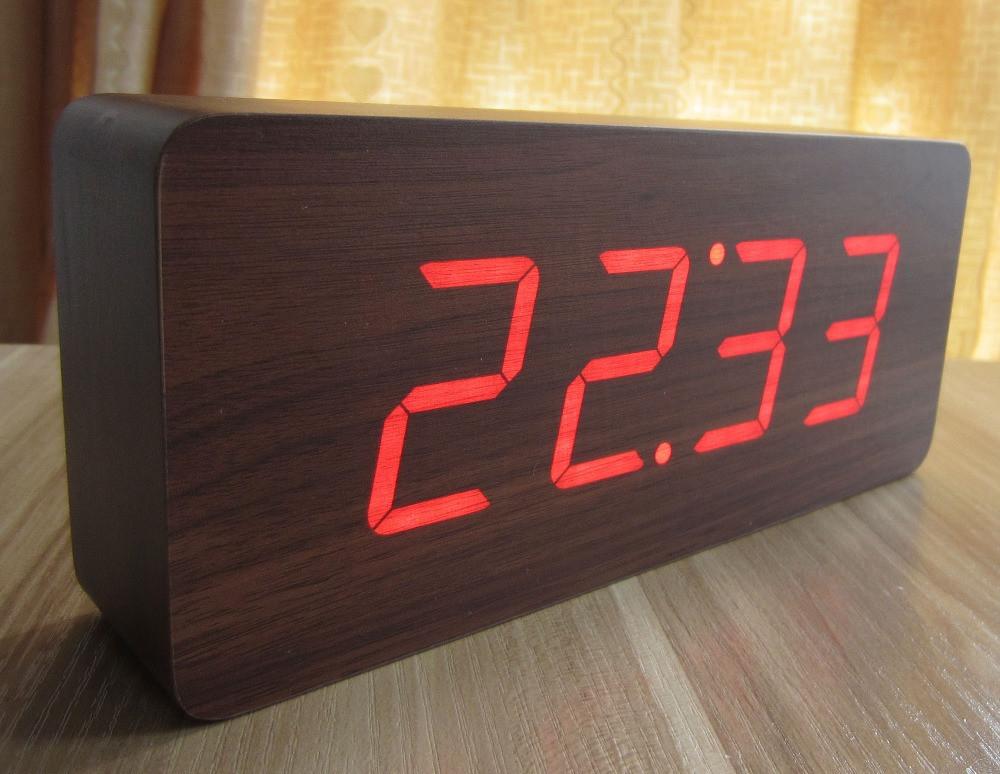 Настенные электронные часы с большими цифрами своими руками 71