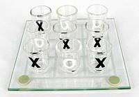 Алко-игра Крестики-нолики (пьяные Крестики-нолики) 13 х 13 см