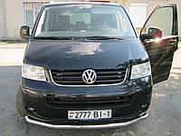 Защитная дуга по бамперу на Volkswagen Transporter T5