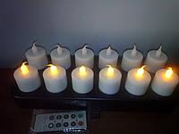 LED свічки з зарядним пристроєм