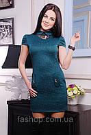 Платье Юля зеленый