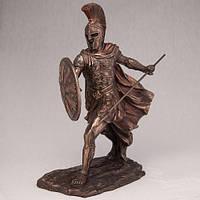 """Статуя с бронзовым покрытием """"Ахиллес"""" 28 см статуэтки преммиум класса"""