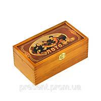 Набор для русского лото в деревянной коробке
