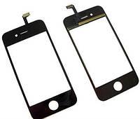 Тачскрин touchscreen (Сенсор) iPhone 4s черный.