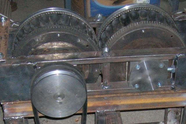 Пресс станок для брикетов из угольного отсева 40