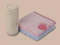 Красивое кухонное полотенце с цветочным рисунком 35х75
