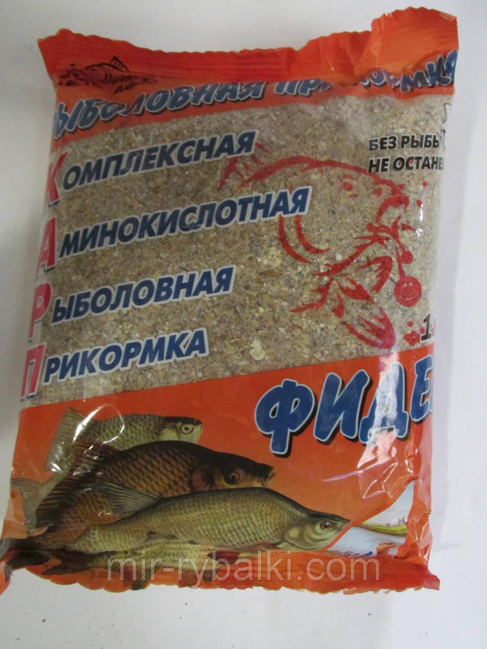 прикормка для ловли любой рыбы