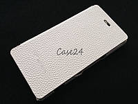 Кожаный чехол книжка Melkco для Sony Xperia M C1905 C2005 белый