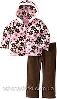 Фирменный тёплый флисовый костюм на 12мес