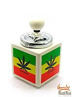 Прикольная пепельница Cannabis лучший подарок растаману