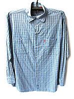 Рубашка мужская в клетку, фото 1