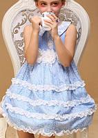 Очень красивое нарядное летнее платье на 2-3 года на рост 90-98 см на 2-3 года
