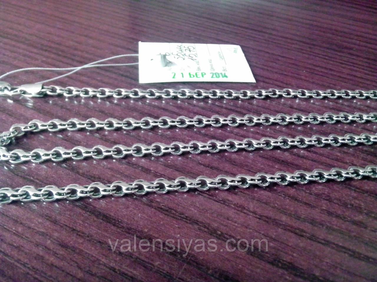 черненое серебро цепи