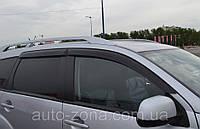 Ветровики Mitsubishi Outlander II 2007-2012/Peugeot 4007 2007 дефлекторы окон