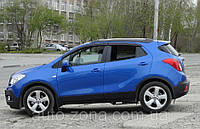 Ветровики Opel Mokka 2012 дефлекторы окон
