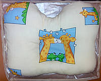 Ортопедическая ПОДУШКА для детей, желтая, фото 1