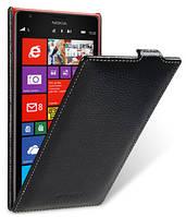 Кожаный чехол Melkco для Nokia Lumia 1520 черный, фото 1