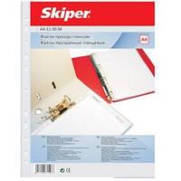 Файлы А4 + (100 шт в упаковке) плотность 40мкрн