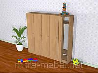 Шкаф пятисекционый (1520*300*1400h)