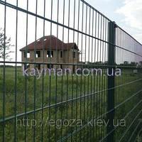 Забор металлический из сварных