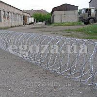 Егоза Супер 1250/7 спиральная колючая проволока