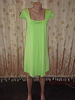 Платье  для беременных салатовое летнее