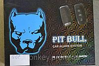 Односторонняя автосигнализация PITBULL. Тип выкидных ключей AUDI.