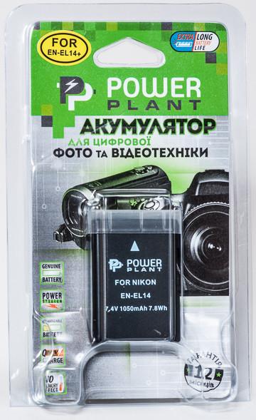 Aккумулятор PowerPlant Nikon EN-EL14 Chip (D3100, D3200, D5100) [sppp]