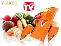 Измельчитель, овощерезка, терка - Original V-slicer, фото 1