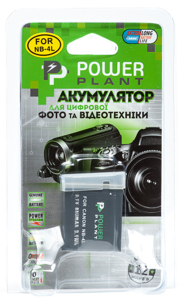 Aккумулятор PowerPlant Canon NB-4L [sppp]