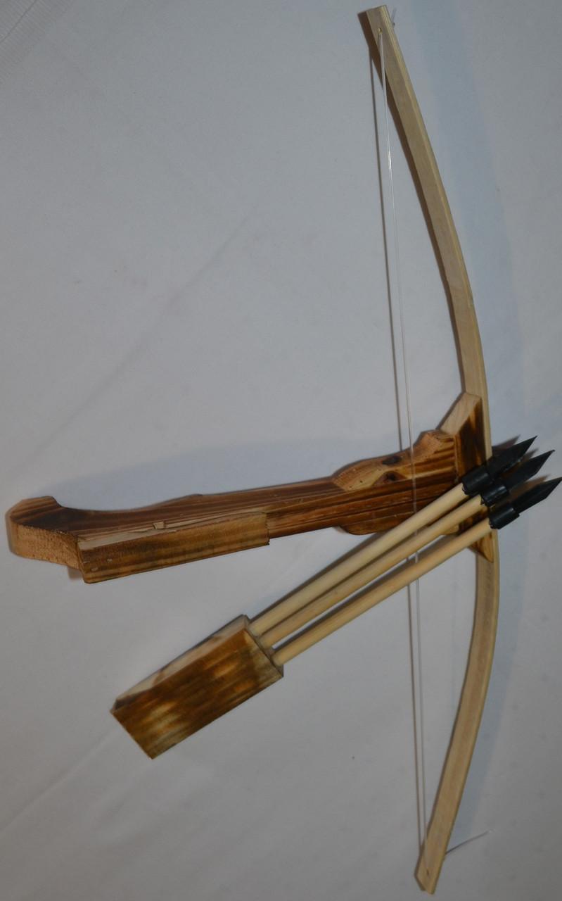 Как сделать свой деревянный арбалет 411