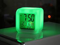 Світлодіодний годинник-хамелеон, антистрес, часы хамелеон MoodiCare Clock
