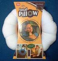 """Подушка трансформер Total Pillow. Для спини, шиї, голови, """"між ноги"""""""