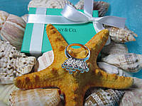 "Кольцо Tiffany & Co / Тиффани ""Обаяние"" (реплика, размер 17-й)"