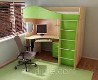 """Кровать детская со столом и шкафом """"Глория"""""""