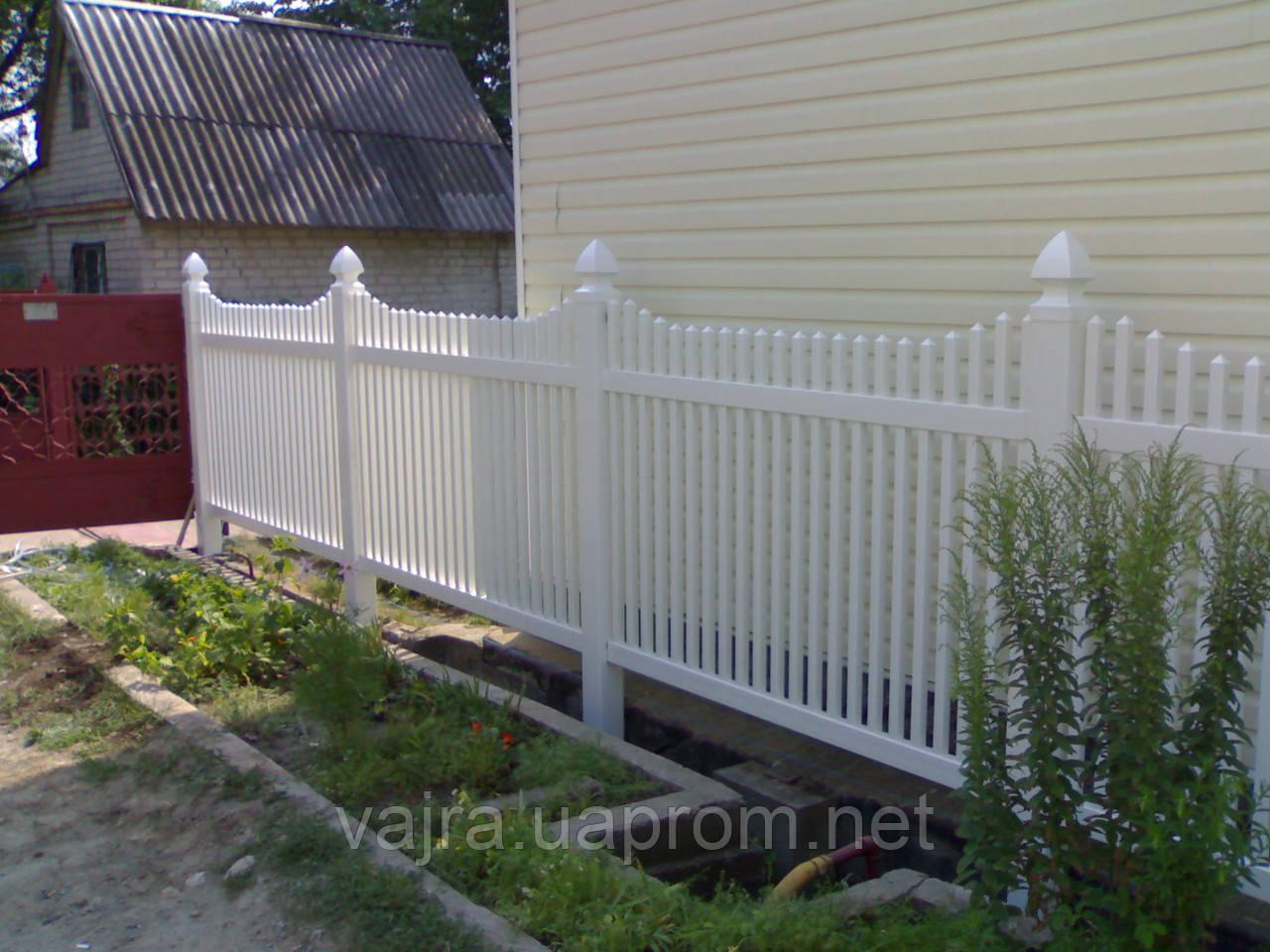 Забор перед домом фото 8