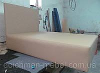 Кровать двухспальная для сауны на пружинном блоке