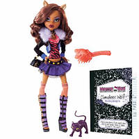 Кукла Монстер Хай Клодин Вульф базовая с питомцем (Monster High Clawdeen Wolf Basic doll)