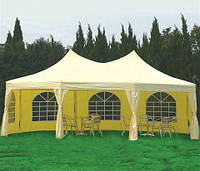 Двухкупольный шатер 6,5х5 метров