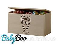Ящик для игрушек гравированный кубок BABY BOO