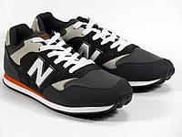 Кроссовки серые мужские шнурок New Balance, фото 1
