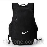 Рюкзак черный Nike повседневный спортивный дорожный с ручкой, фото 1