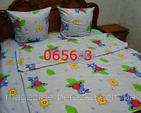 Комплект постельного в детскую кроватку, манеж, ЛУНТИК
