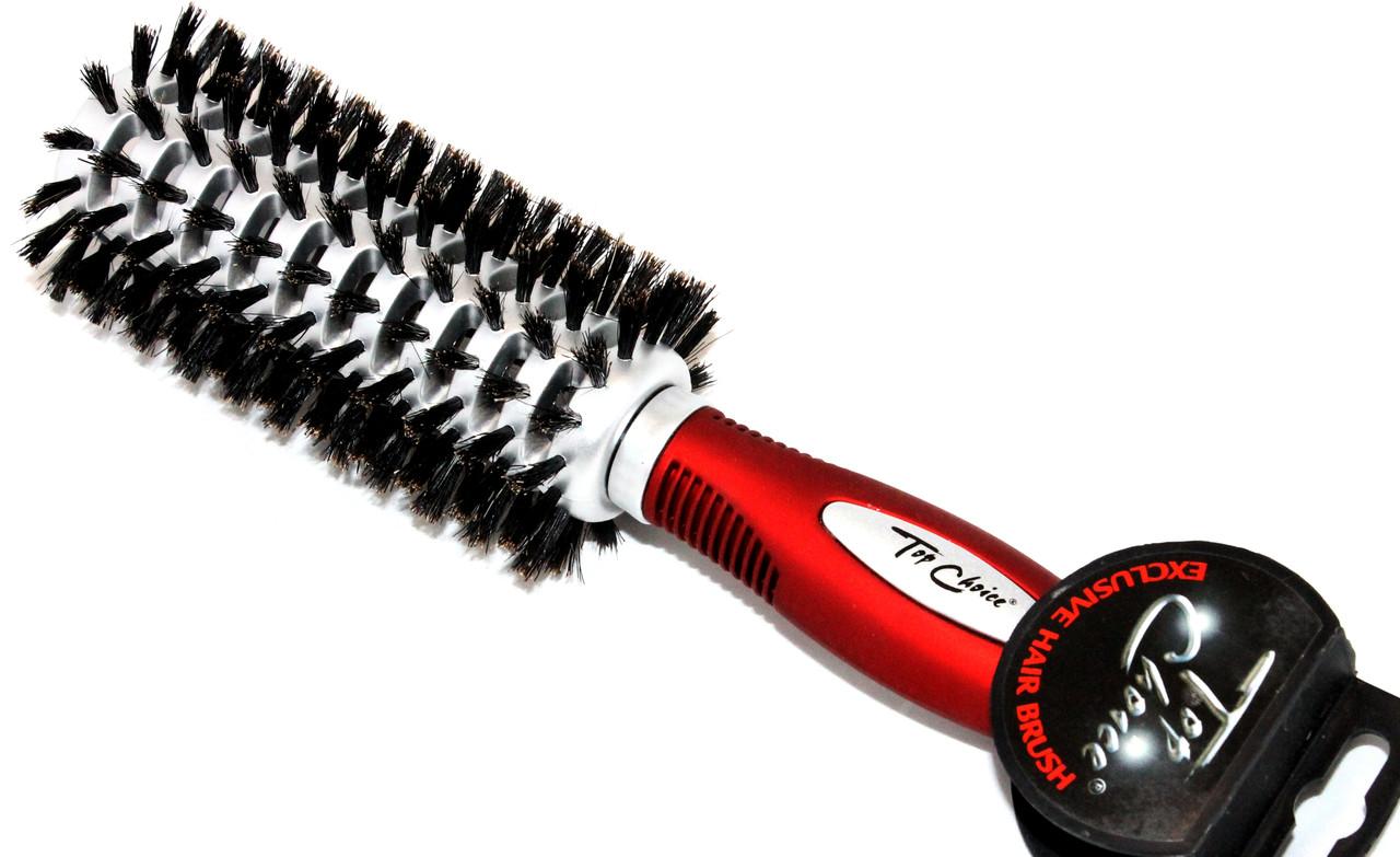 брашинг с натуральной щетиной для волос