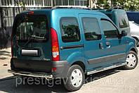 Боковые пороги на Renault Kangoo (трубы)