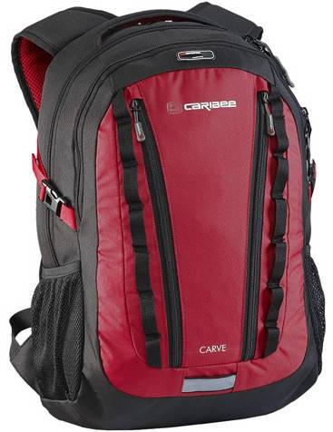 """Городской рюкзак для ноутбука 15,4"""", 30 л. Caribee Carve 30 красный, 920619"""