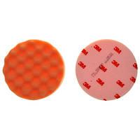 Круг полировальный многоразовый рифленый 3М Perfect - it 50456 оранжевый для пасты 80349